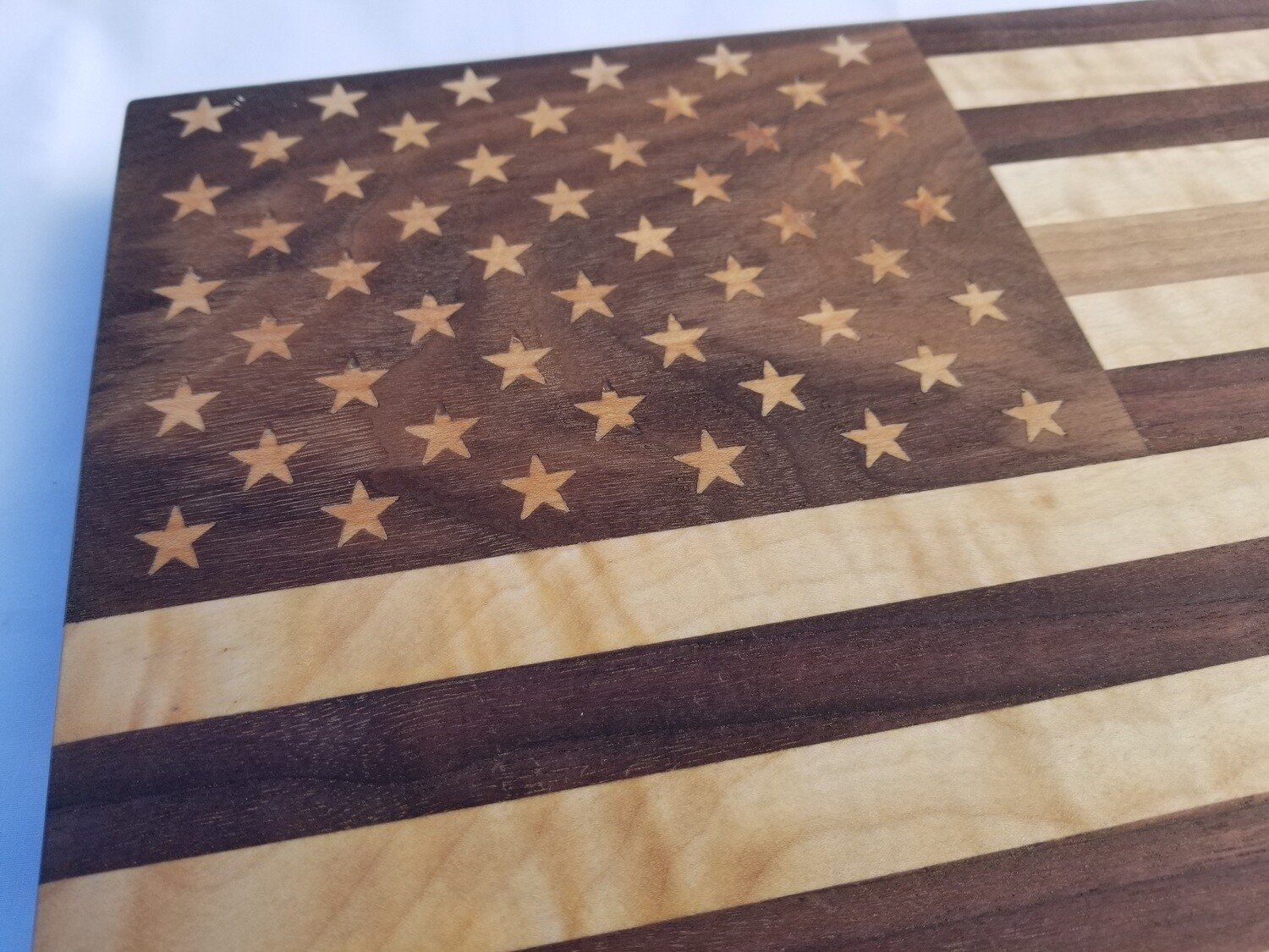 """""""Old Glory"""" Flag Cutting or Charcuterie / Cheese Board"""