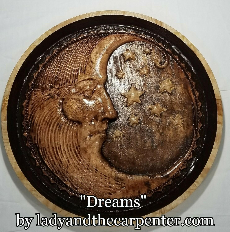 """""""Dreams"""" Man in the Moon"""