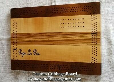 Cribbage Board- Custom