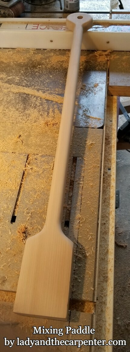Large Mixing Paddle