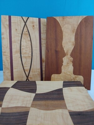 Cutting Board: Curved Line Designs