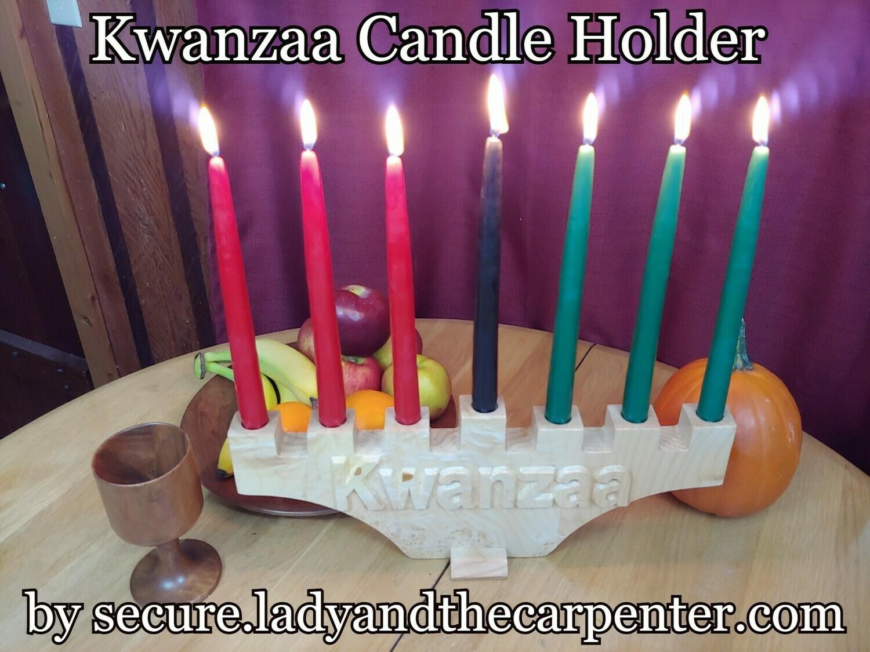 Kwanzaa Candle Holder