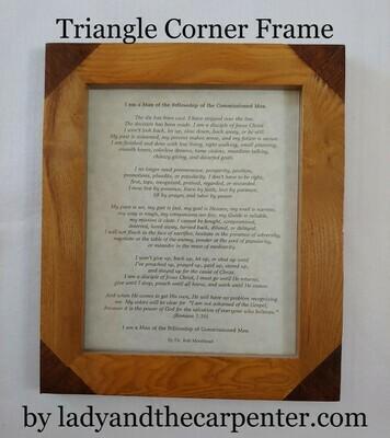 Triangle Corner Frame