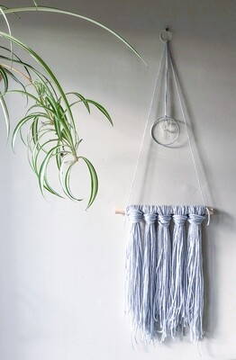 Dreamy Wall Hang . // . Bohemian Home Decor . // . Gift that Gives Back - Plant a Tree . // . Custom Colour & Crystal