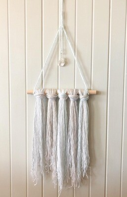 Ombre Wall Hang .//. Healing Crystal Home Decor .//. Gifts that Gives Back .//. Boho Chic