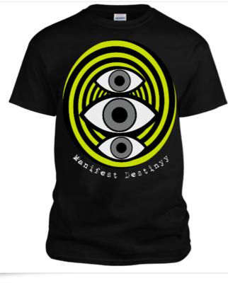 Triple eye mens tee