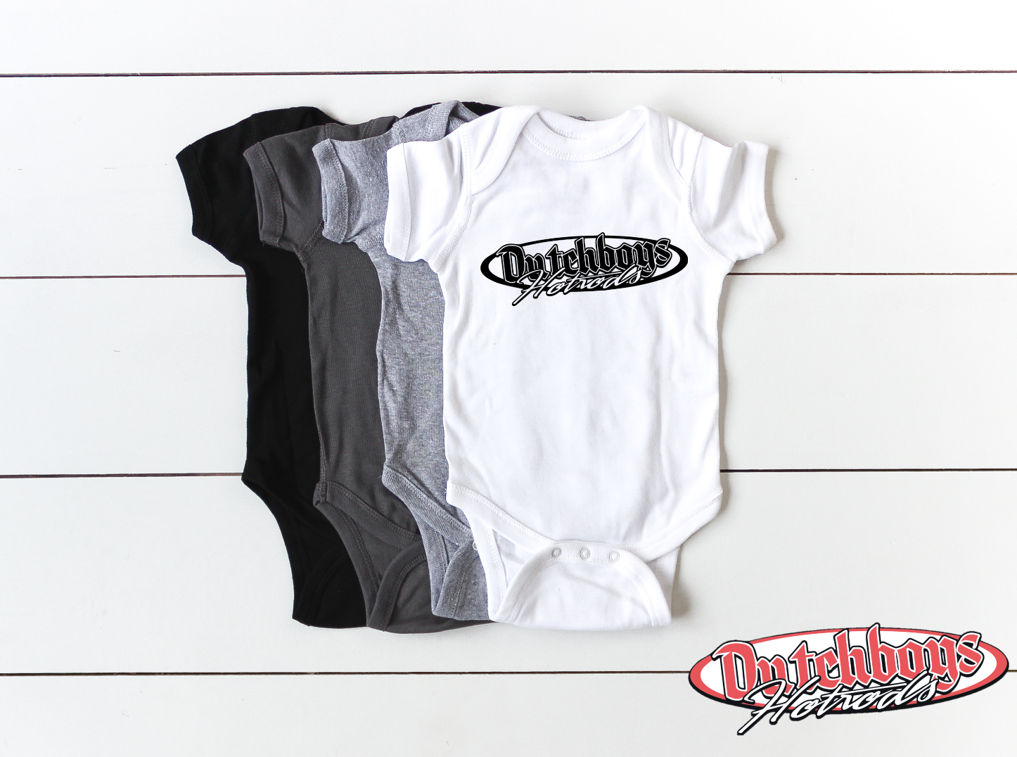 Infant Bodysuit with Dutchboy's Logo
