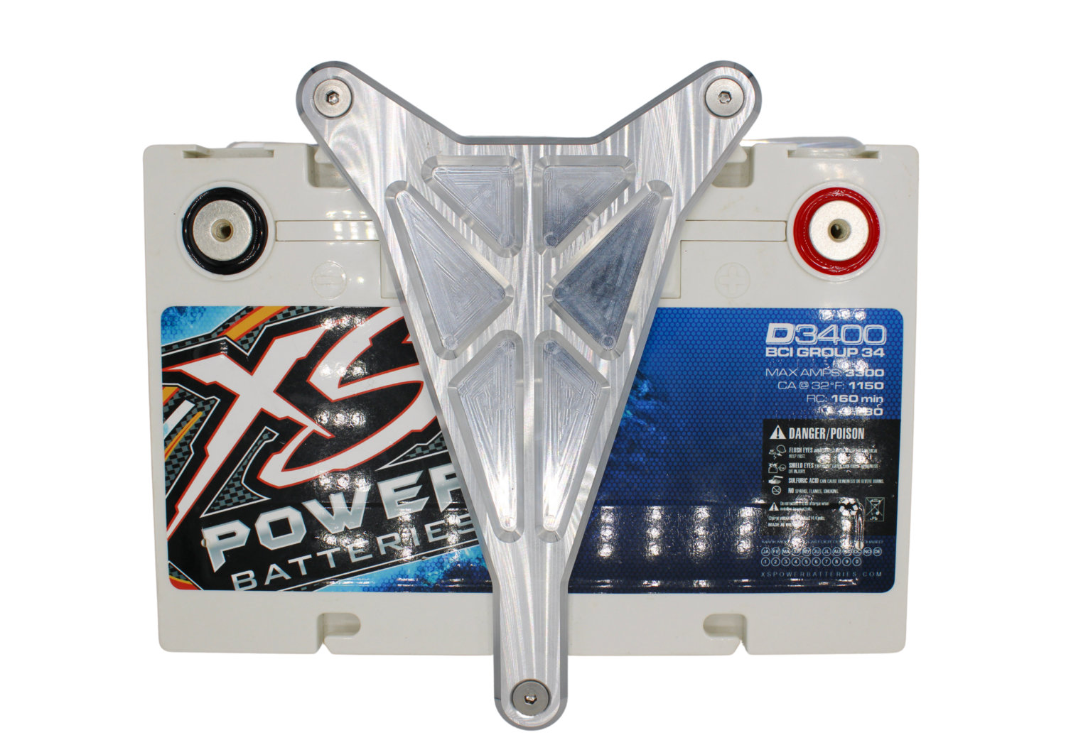 XS Power Battery hold down
