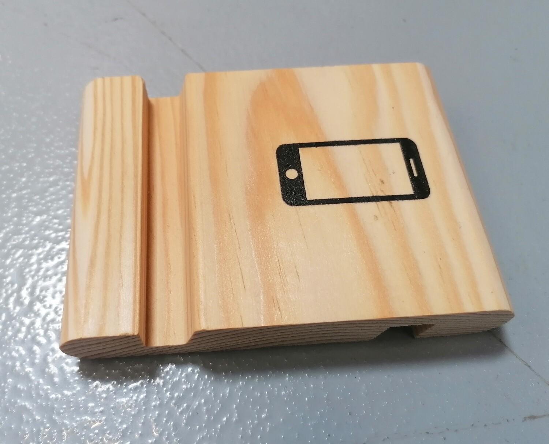 Suport telefon mobil, lemn