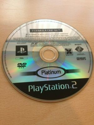 Playstation 2 PS2 Formula One 06 Disc Only