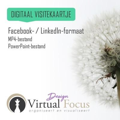 LinkedIn- / Facebook formaat MP4 + PPT-bestand