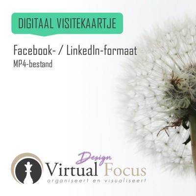 LinkedIn/Facebook-formaat MP4-bestand