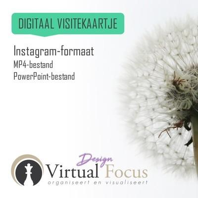 Instagram formaat MP4 + PPT-bestand