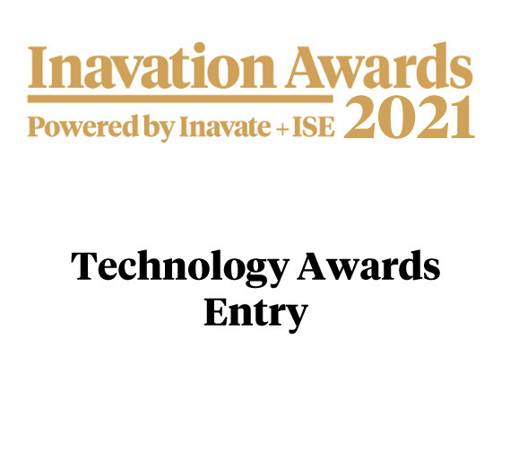 Inavation Awards 2021 - Technology Entry