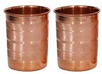 CopperKing Pure Copper Classic Touch Glass Set Of 2