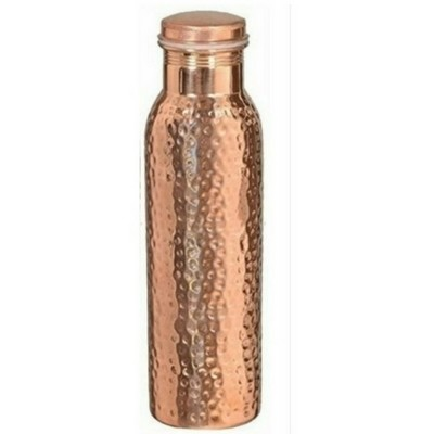 CopperKing Natural Hammered Copper Water Bottle – 950ml