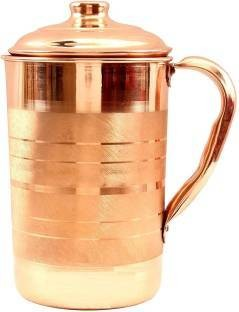 CopperKing Classic Touch Jug 1000ml, Water Drinking in Copper