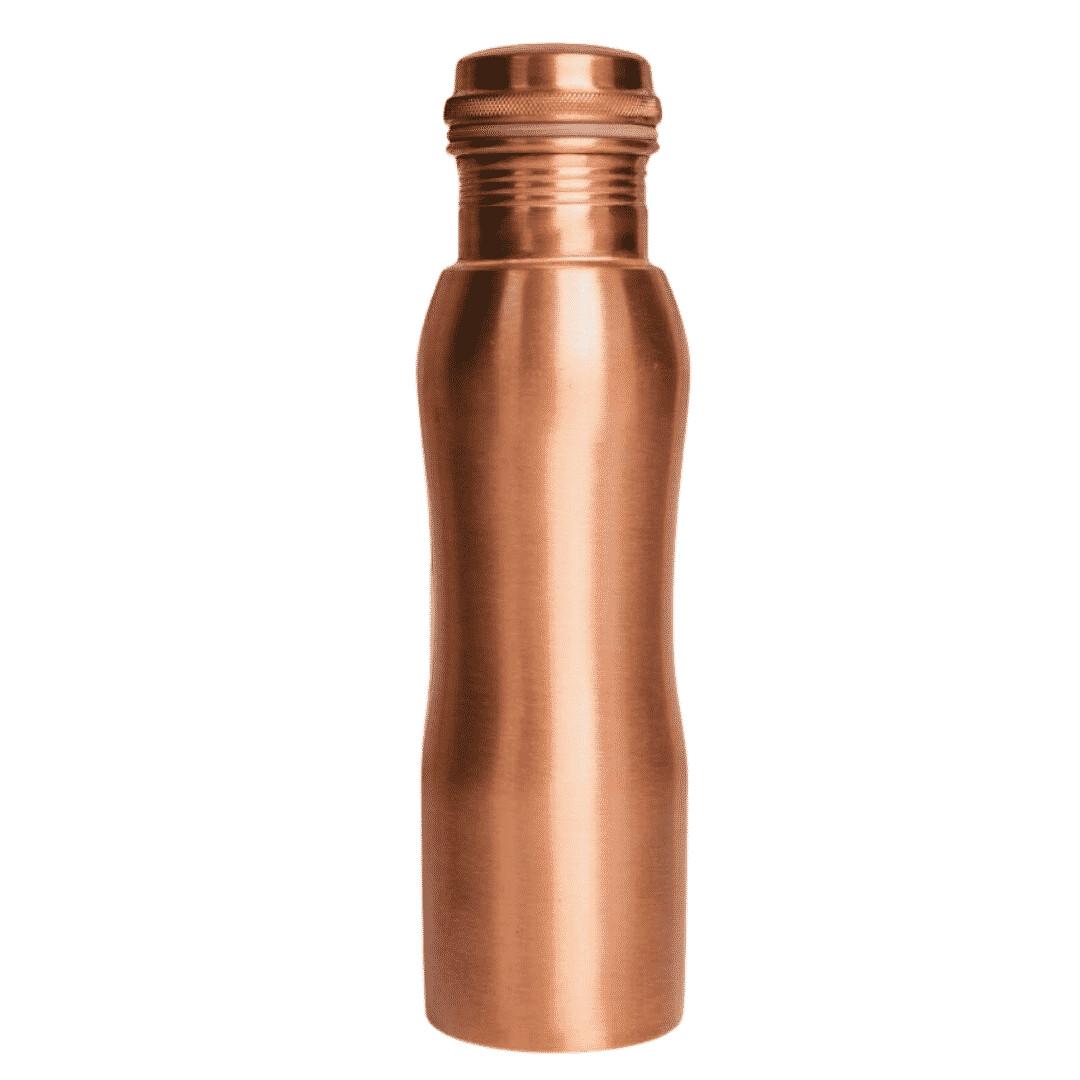 CopperKing Curvy Pure Copper Water Bottle 950ml