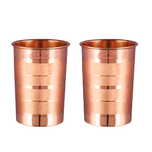 High-Quality Pure Copper Classic Touch Glasses Set Of 2