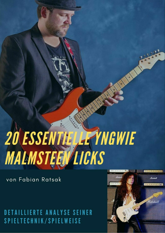 20 Licks im Stile von Yngwie Malmsteen