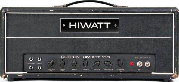 Helix Stomp Preset - HiWatt 100 HK Amp