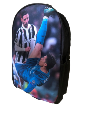 5- Ronaldo Bi-Cycle Kick Backpack