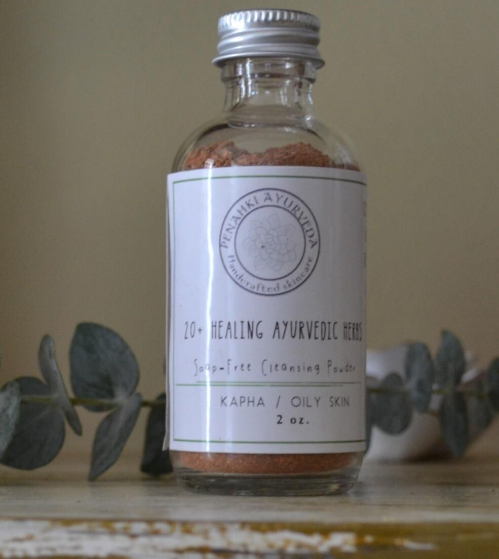 Kapha Soap-free Cleansing powder