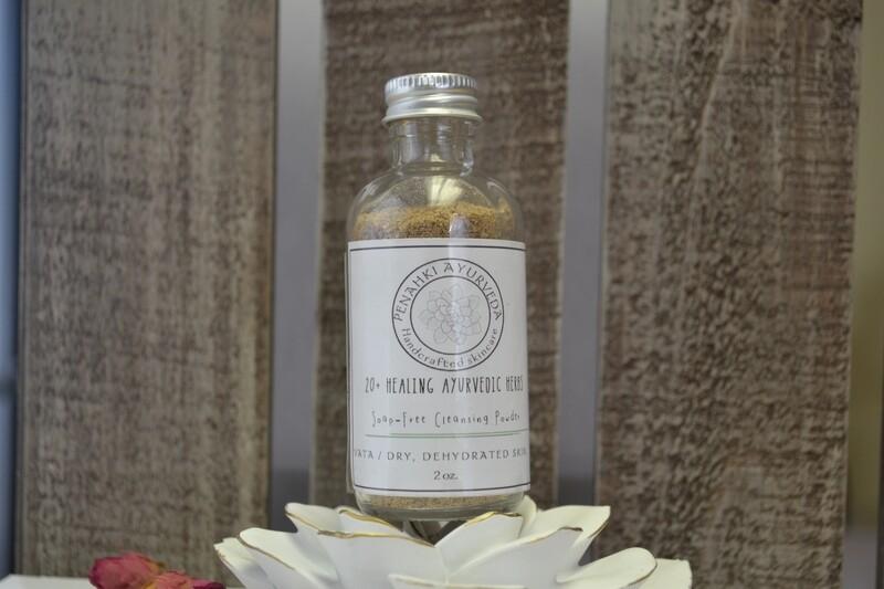 Vata Soap-free Cleansing powder
