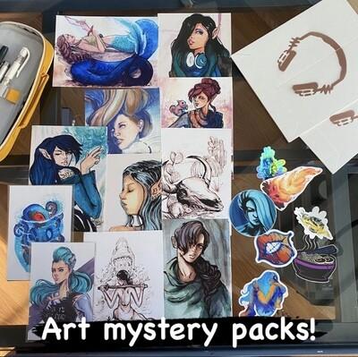 Art Mystery Packs