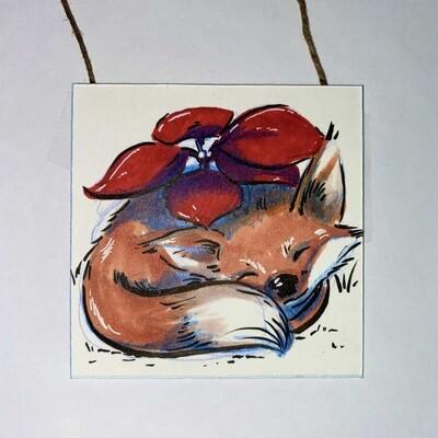 Poinsettia Fox
