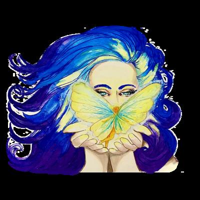 Luminous Fairy sticker
