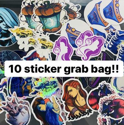 10 Sticker Grab Bag!
