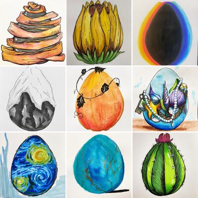 30 Dragon Eggs