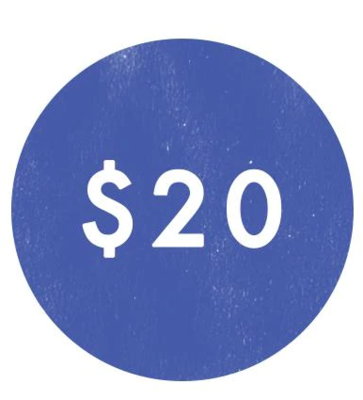 $20 - In Kind Donation