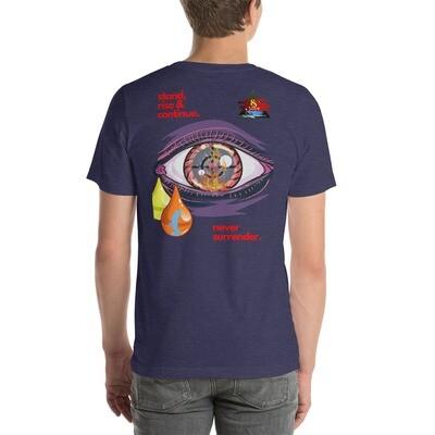 & More's Never Surrender Short-Sleeve Unisex T-Shirt
