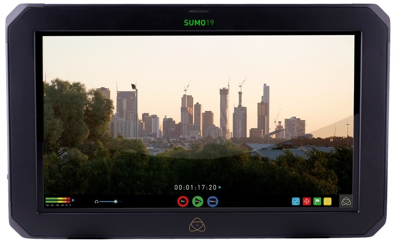 Atomos Sumo 19.  On sale for $1995 with free 500gig hard drive!