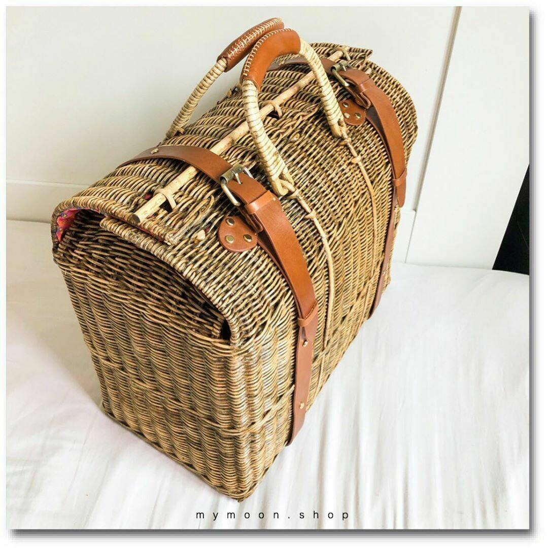 Rattan Woven Bag Speed shape size 2XL