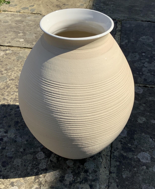 Cornish stoneware vase