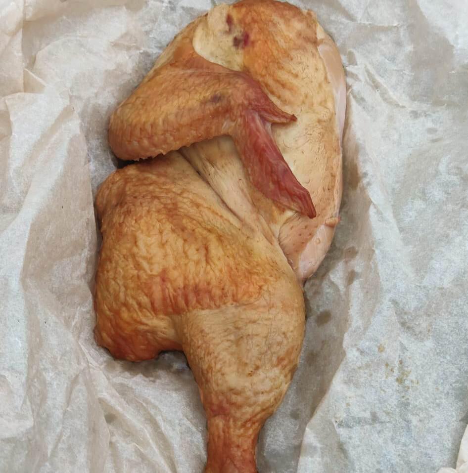 Копчёная курица