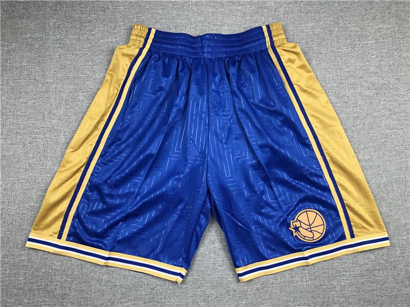Pantaloncino Golden State Warriors Blue