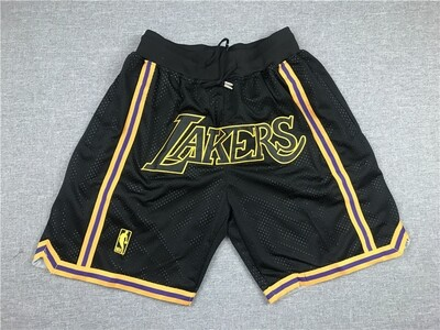 Pantaloncino Lakers Black