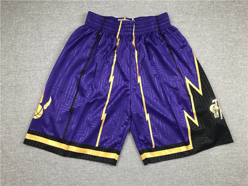 Pantaloncino Toronto Raptors Purple
