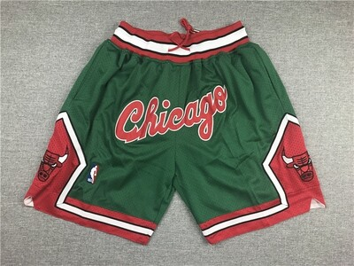Pantaloncino Chicago Bulls Green