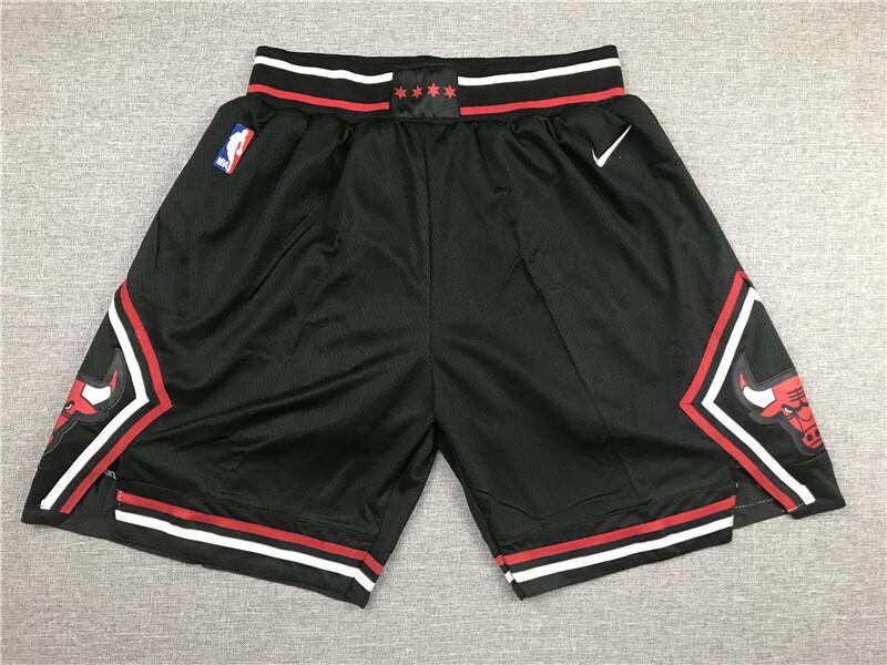 Pantaloncino Chicago Bulls Black