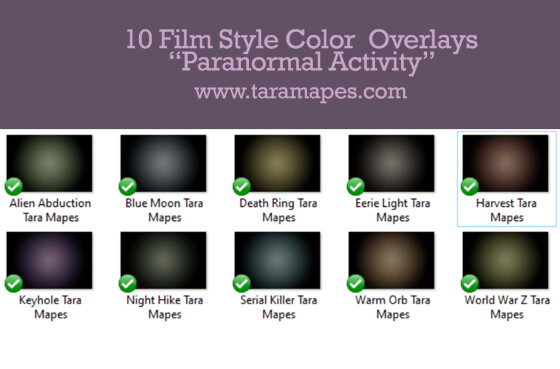 10 Film Style Overlays - Photoshop Color Films