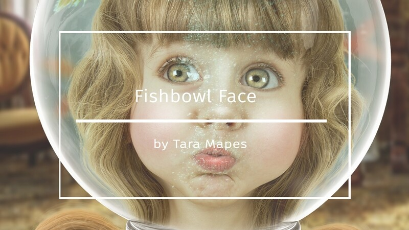Fishbowl Face Photoshop Tutorial : How To Extract and Blend Your Subject into Fishbowl Face Layered PSD Background in Photoshop by Tara Mapes