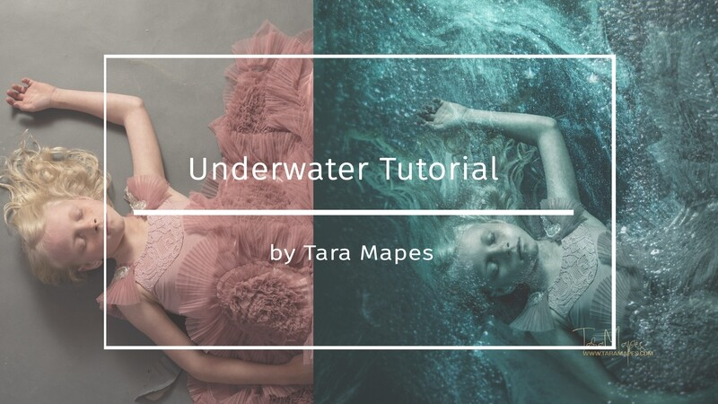 Under Water Photoshop Tutorial- Fine Art Tutorial by Tara Mapes