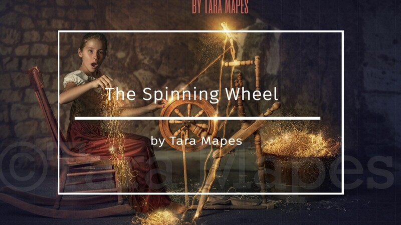 Rumplestiltskin Spinning Wheel Photoshop Compositing Tutorial by Tara Mapes Enchanted Eye Creations