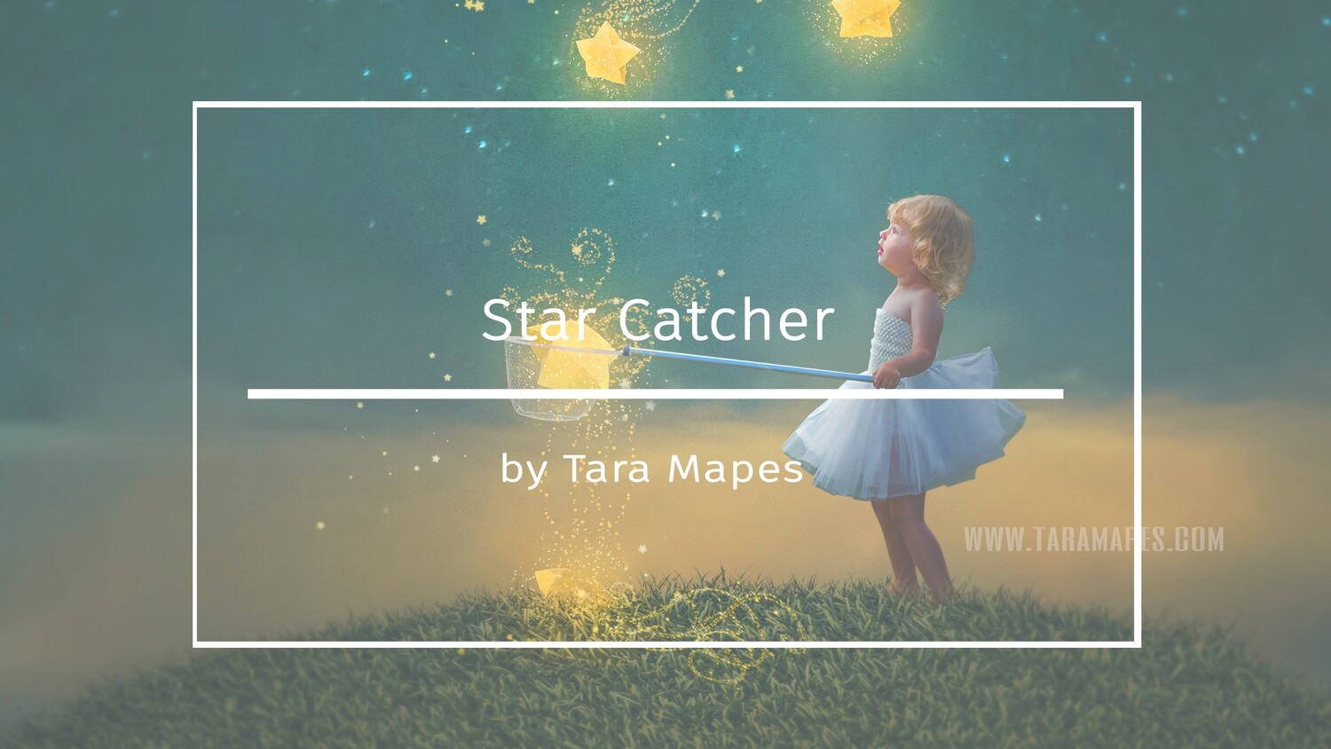 How to Create a Star Catcher Digital Background in Photoshop Compositing Tutorial by Tara Mapes Enchanted Eye Creations