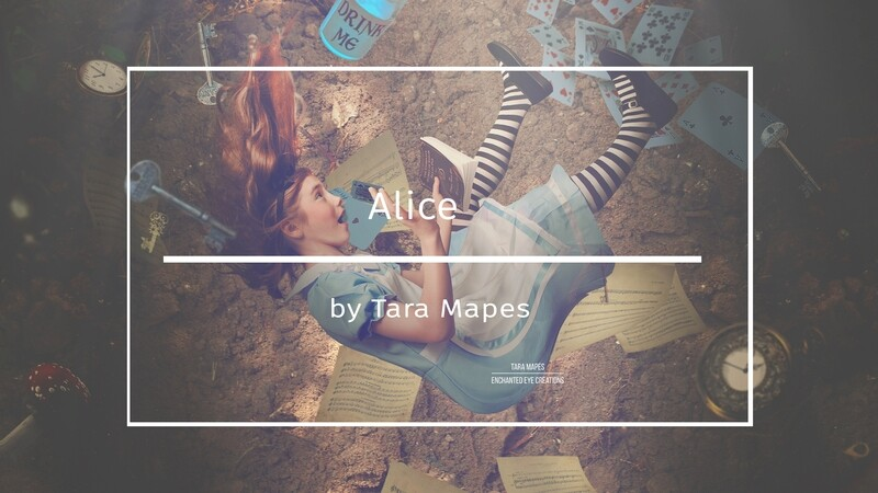 Alice in Wonderland Photoshop Compositing Tutorial by Tara Mapes Enchanted Eye Creations
